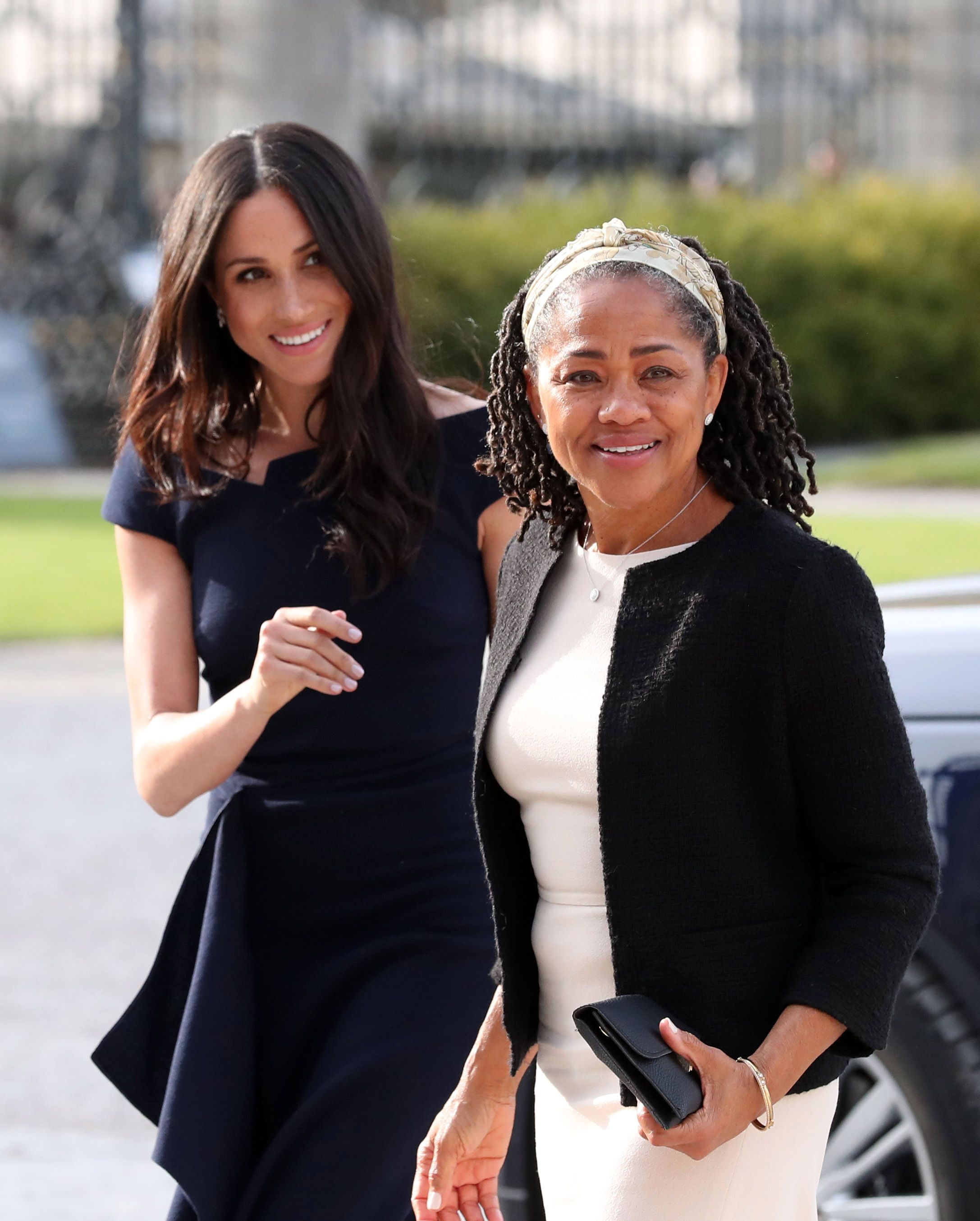 Meghan Markle's Mom Doria Ragland Has Reportedly Arrived in England, Giving a Major Hint About When Meghan Is Due