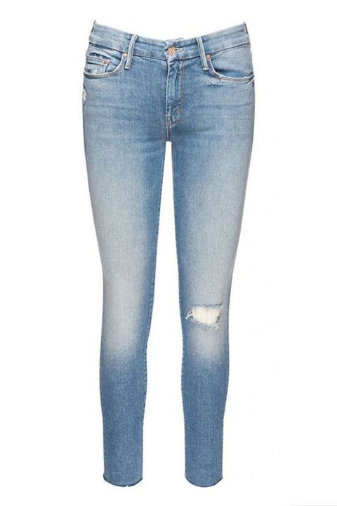 Meghan Markle Mother denim ripped jeans