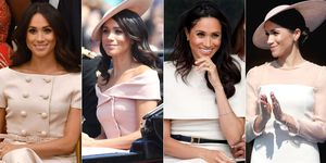 Meghan Markle nude and neutral clothing