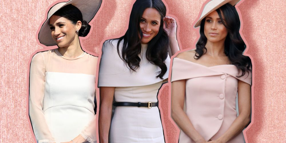 Meghan Markle neutral colours