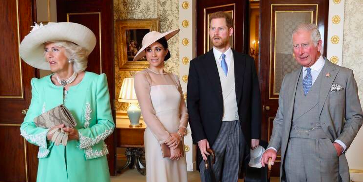 Meghan Markle Stuns in Outtakes from Prince Charles' Birthday Portraits