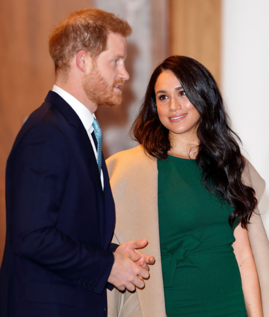 prince harry reassured meghan markle about her post baby body prince harry reassured meghan markle