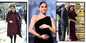 Meghan Markle pregnancy style - meghan markle maternity style