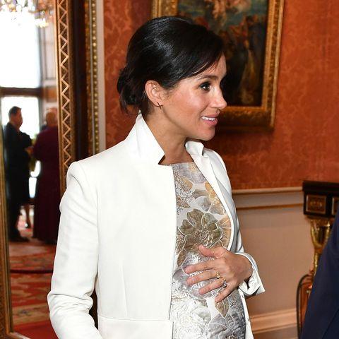 meghan markle buckingham palace prince charles investiture