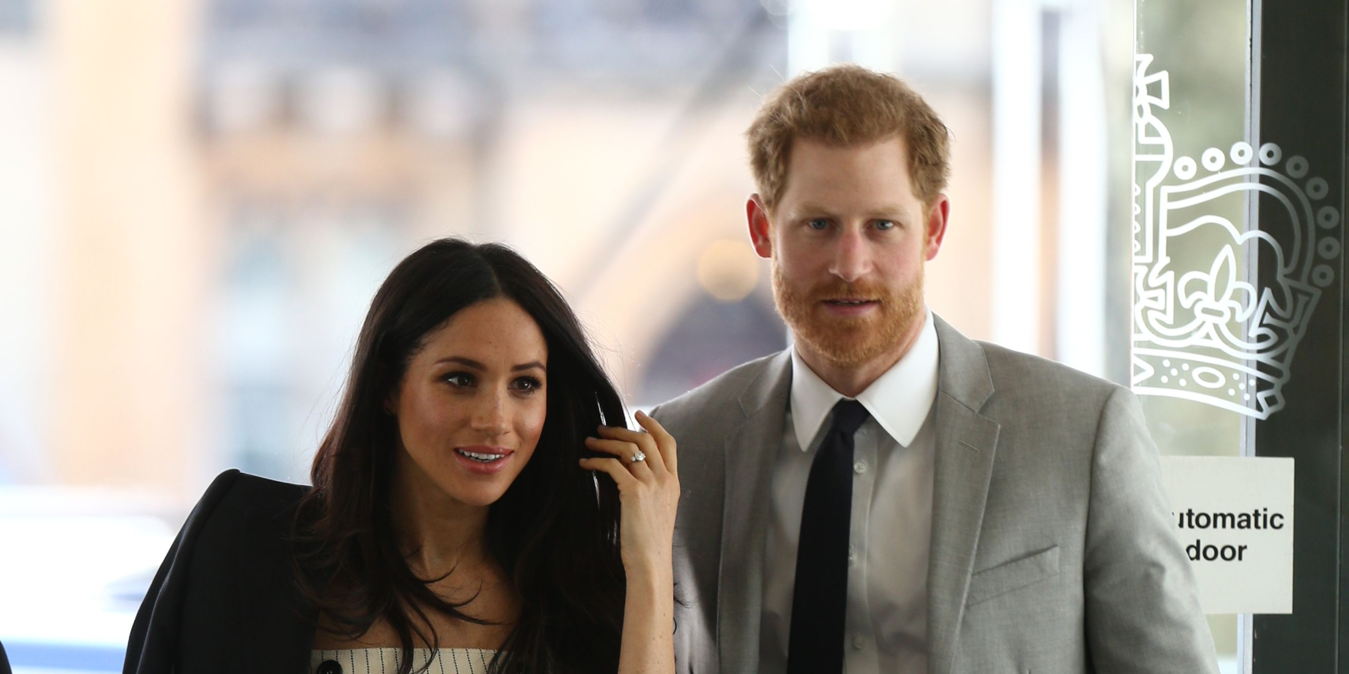 meghan markle and prince harry at the commonwealth youth forum