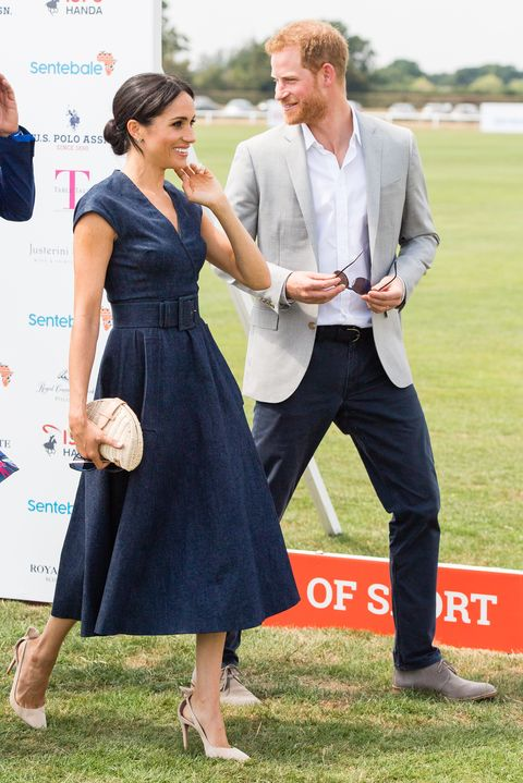 e7634e76e554 Meghan Markle s Nude Pumps From Today s Polo Match Can Be Yours for  40