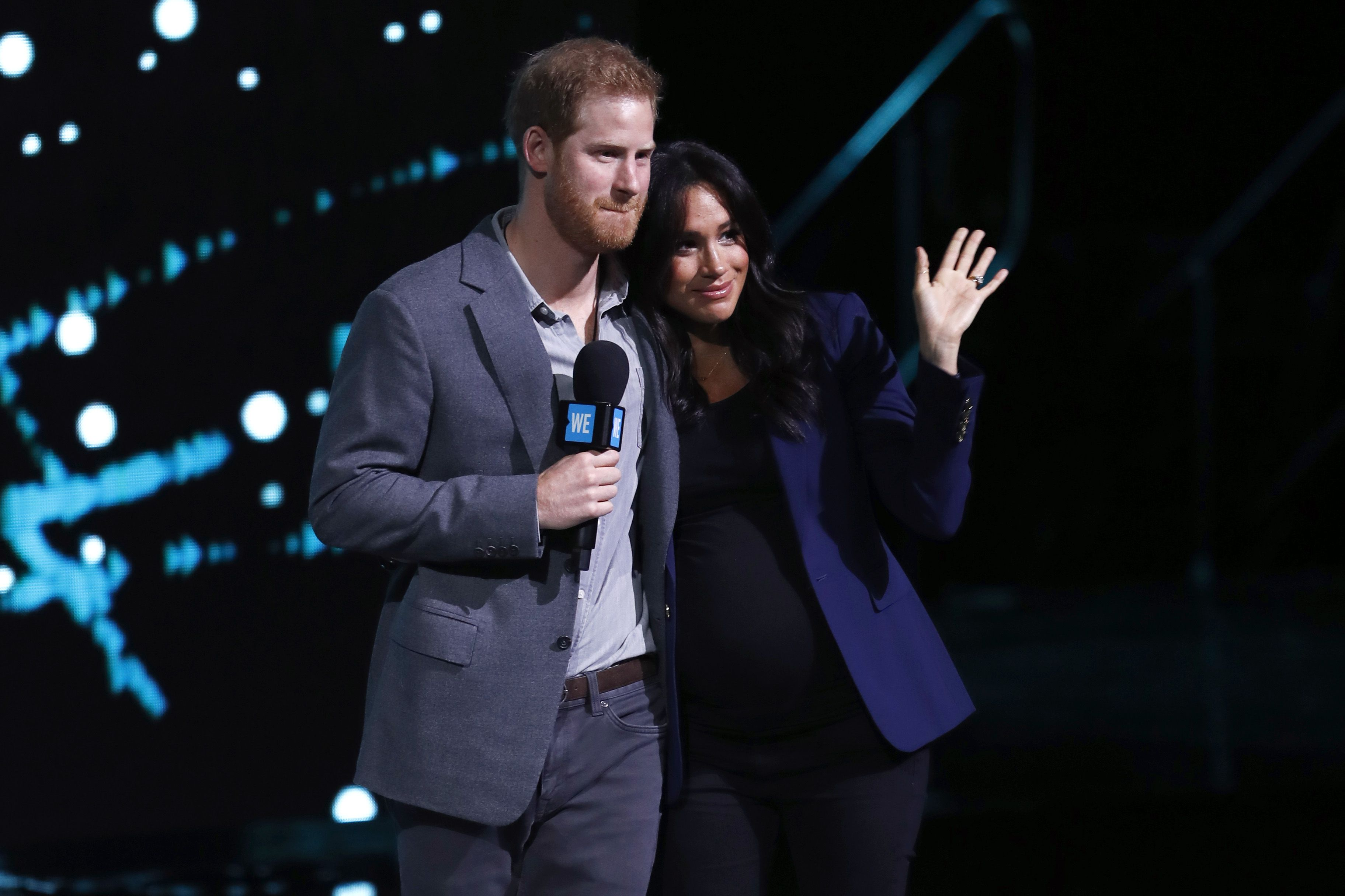 Prince Harry and Meghan Markle to no longer use HRH titles as they step back from royal duties