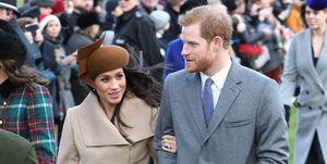 Meghan Markle and Prince Harry Christmas