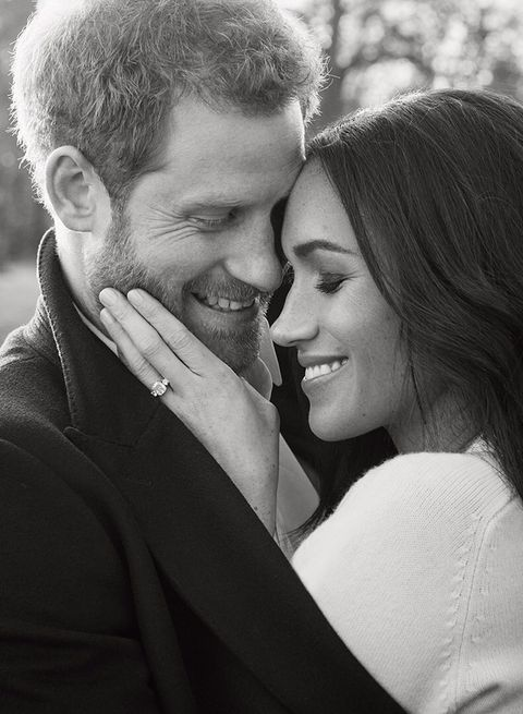 Prince Harry And Meghan Markle S Engagement Photos