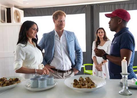 Meghan Markle, Prince Harry, filmed, documentary, royal tour, Africa