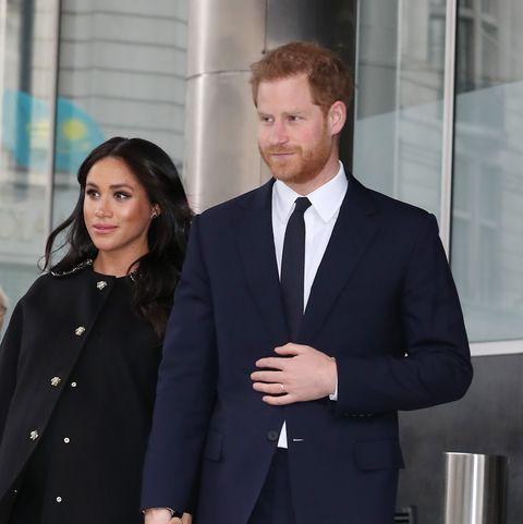Meghan Markle, Prince Harry, royal pre-Christmas lunch
