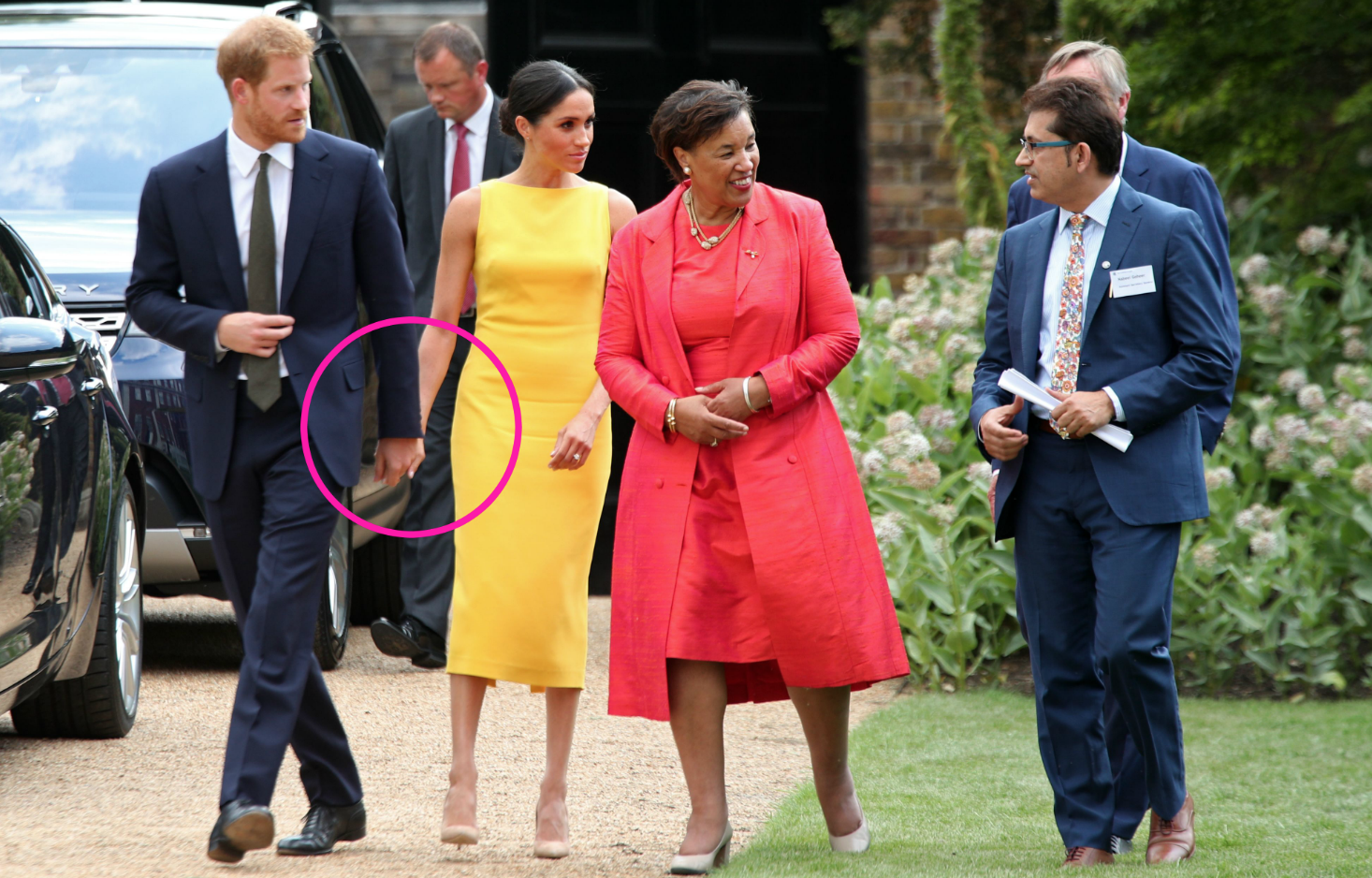 Meghan Markle Is Now Wearing a Prince Harry Ring pics