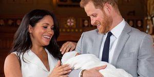 Meghan Markle, Prince Harry, Royal Baby reveal at Windsor Castle