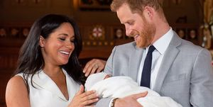 Meghan Markle, Prince Harry, Royal Baby reveal at Windsor Castle