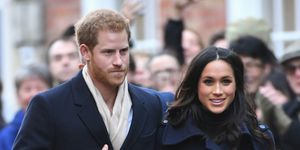 Prince Harry and Meghan Markle look loved up at their first official royal engagement together