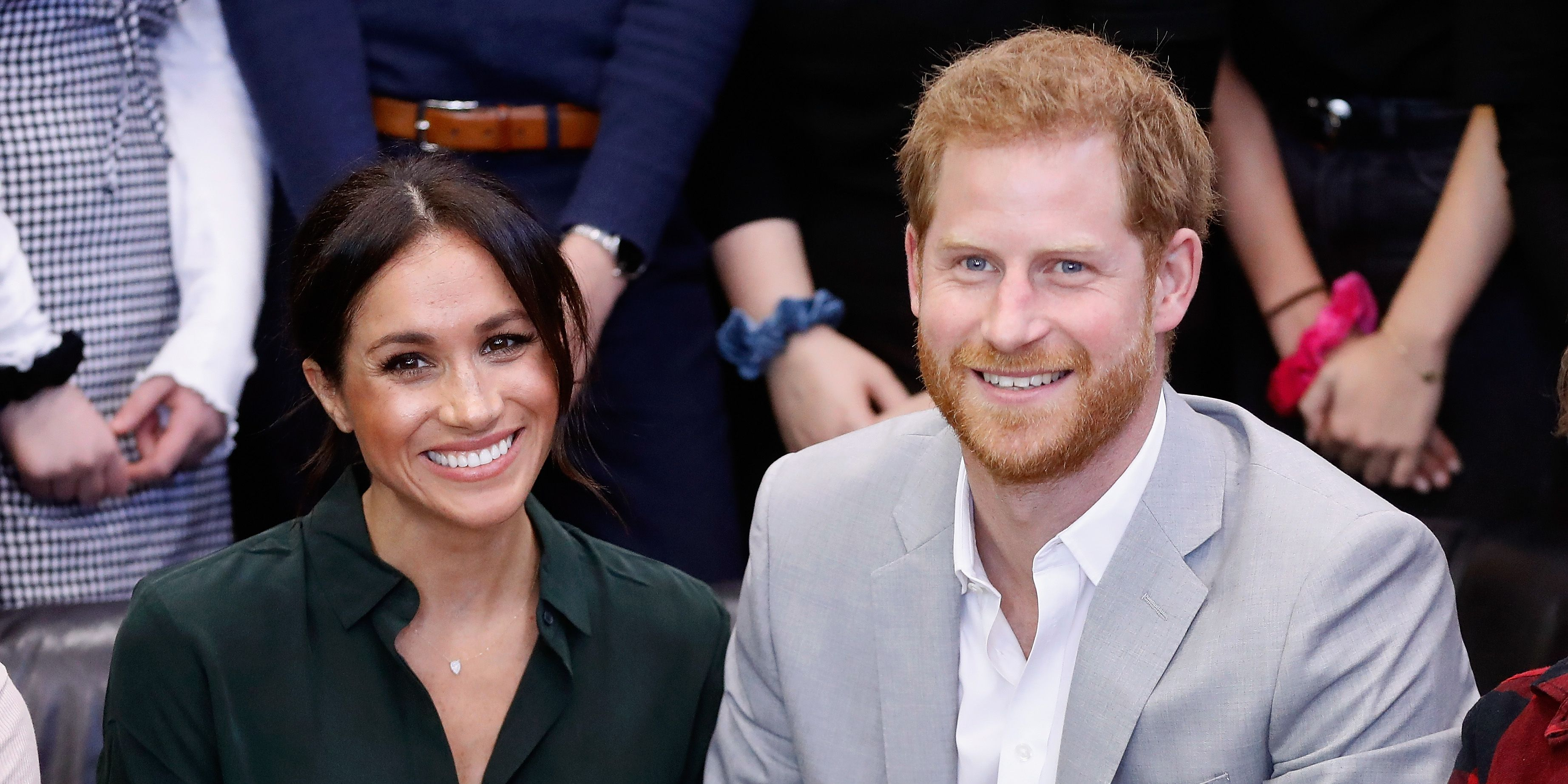 Prince Harry and Meghan Markle in Sussex