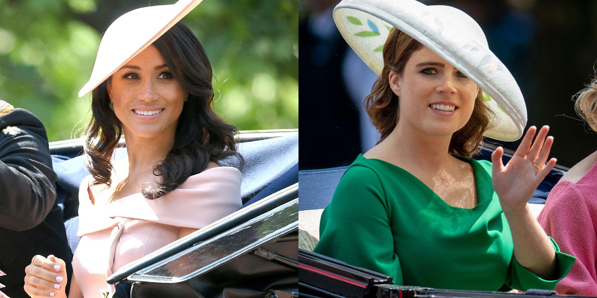 Meghan Markle and Princess Eugenie