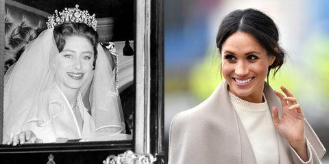 Princess Margaret Wedding.Like Princess Margaret Meghan Markle Won T Have Her Father Walk Her