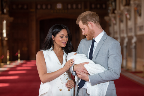 meghan markle prinicpe harry royal baby nome