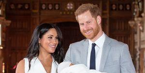 Prins Harry en Meghan Markle delen een nieuwe foto van zoon Archie voor Vaderdag