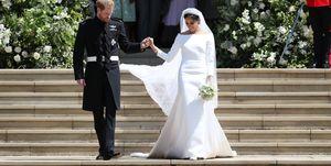 meghan markle prins harry bruiloft trouwjurk ss2019