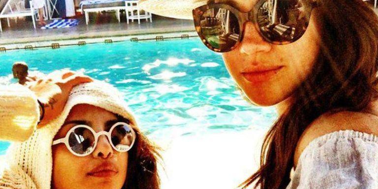 Meghan Markle en Priyanka Chopra