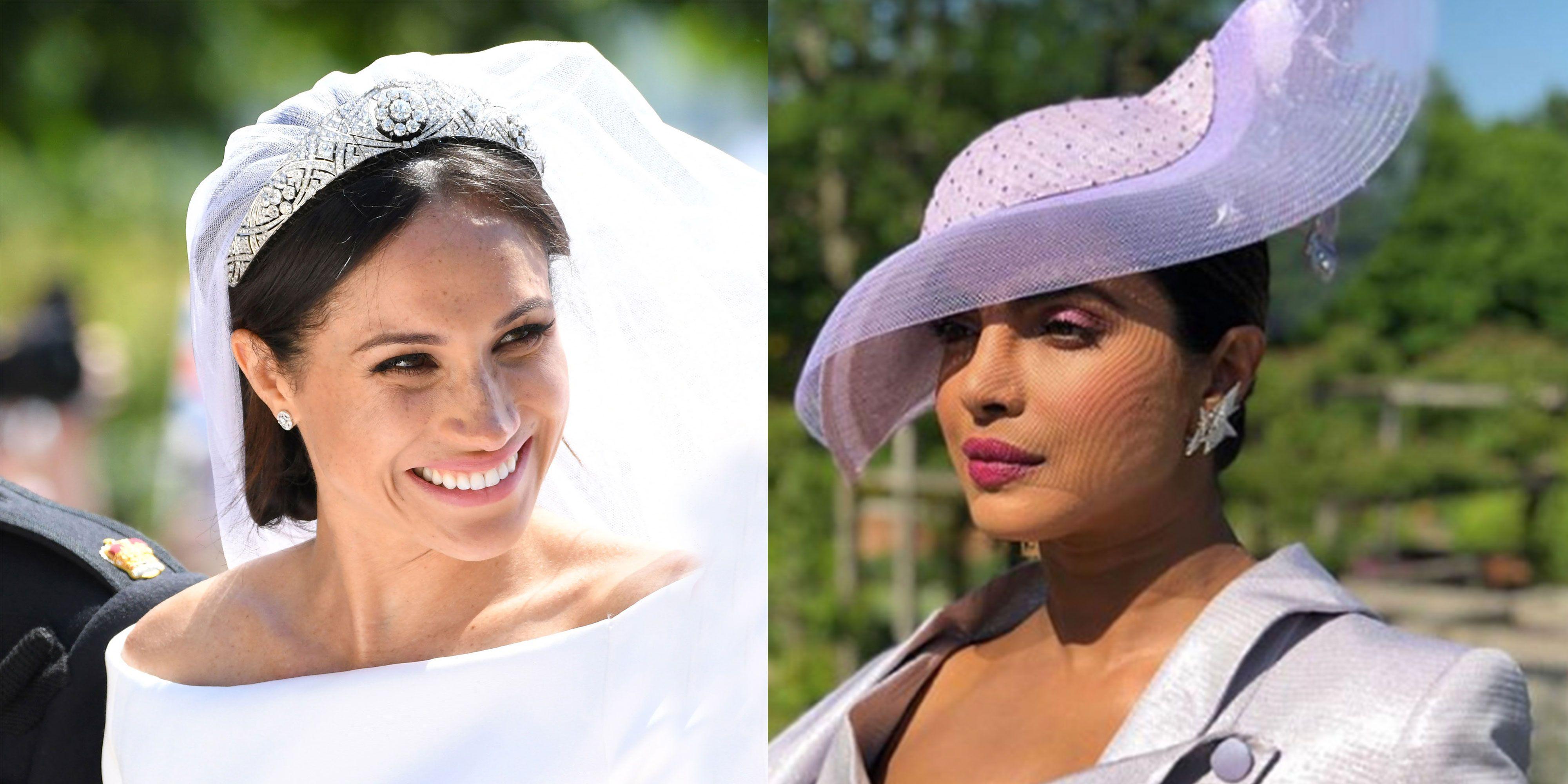 Meghan Markle and Priyanka Chopra at the Royal Wedding