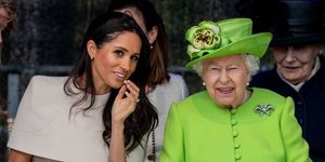Meghan Markle, The Queen