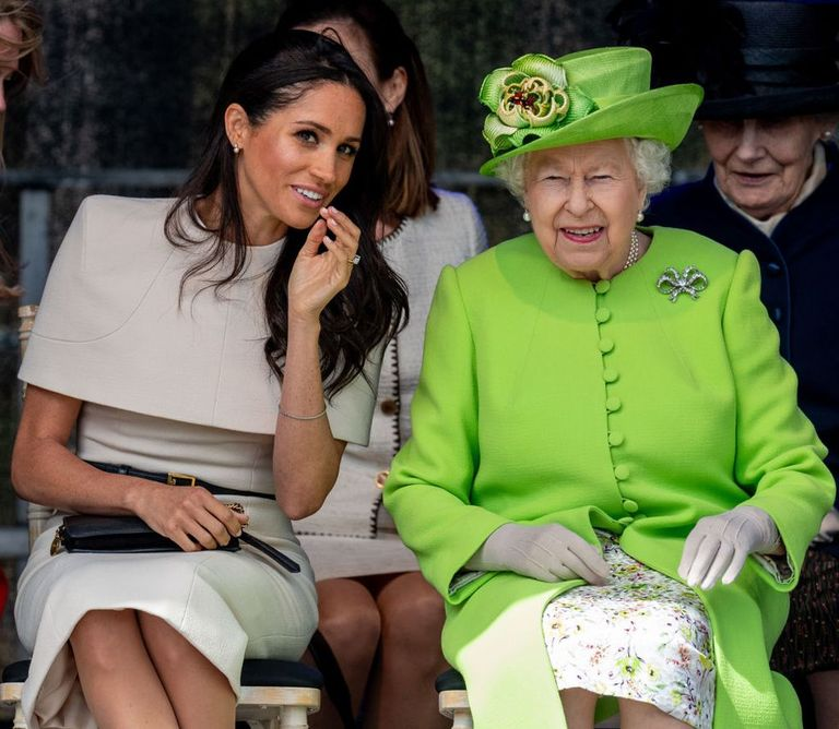 Meghan Markle Checks The Royal Protocol On Getting Into A