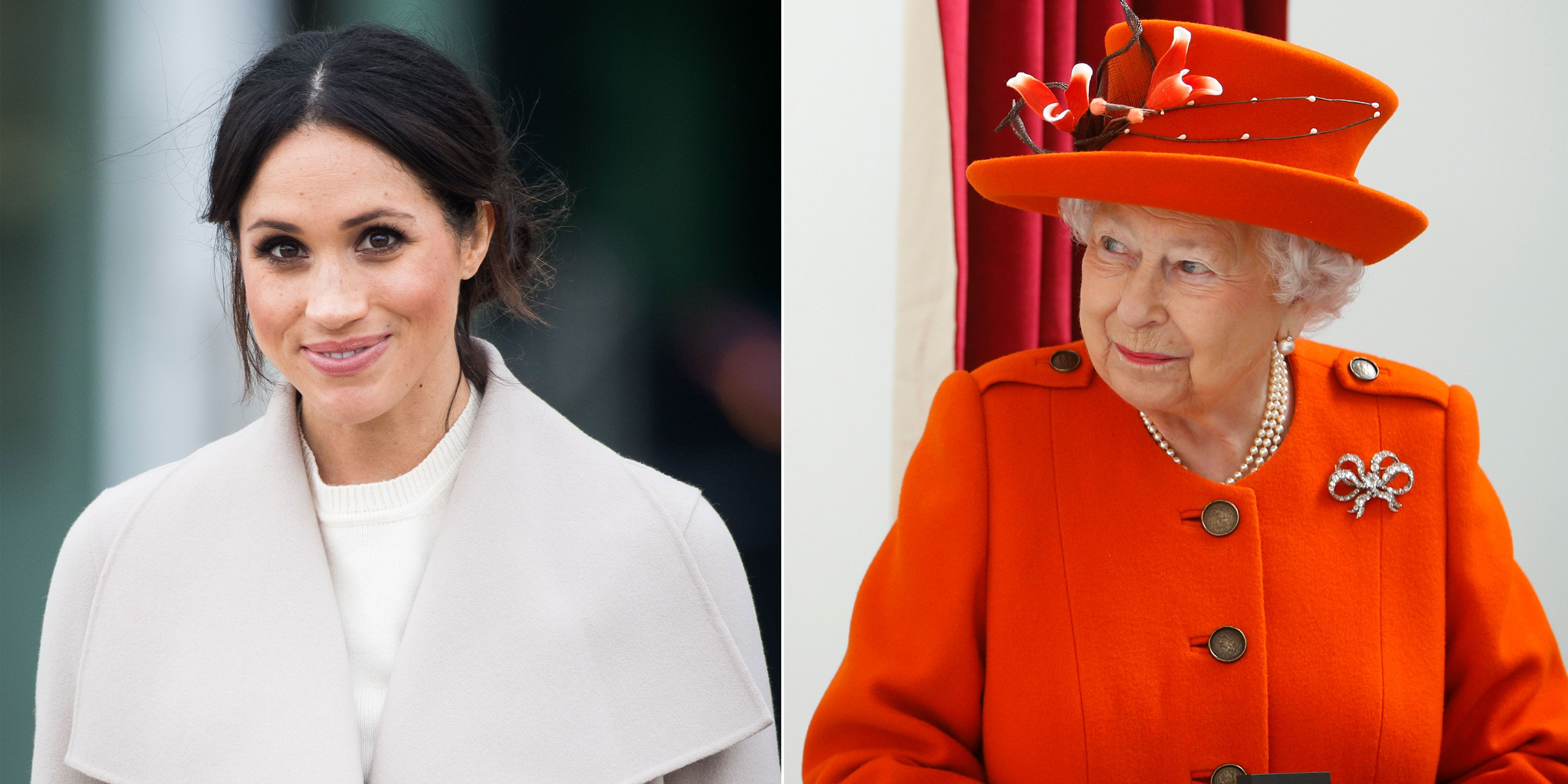 What Really Happened When Meghan Markle Had Tea With The Queen
