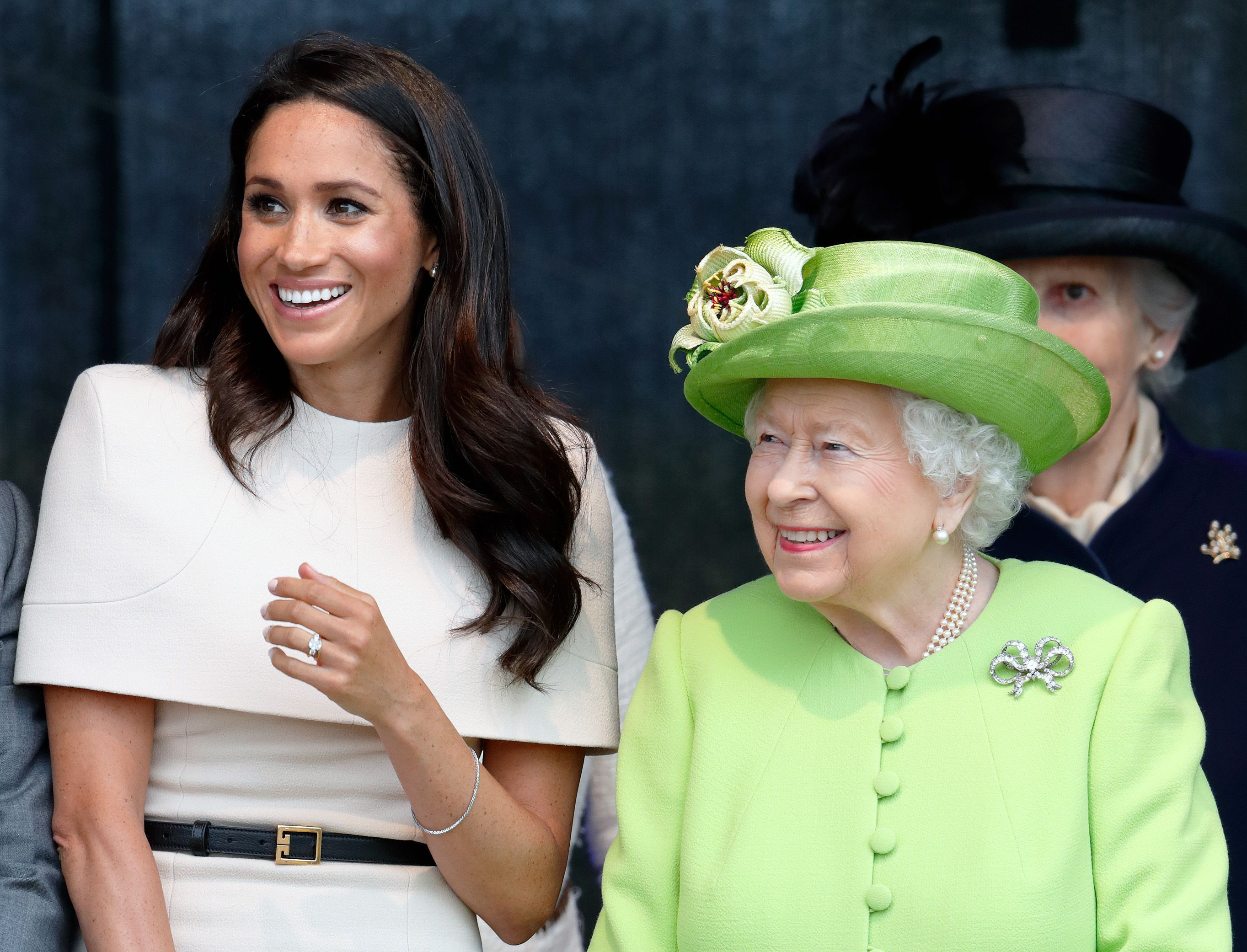 The Queen Says She's 'Particularly Proud' Of Meghan Markle In Her Official Megxit Statement