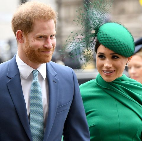 queen elizabeth address coronavirus prince harry meghan markle