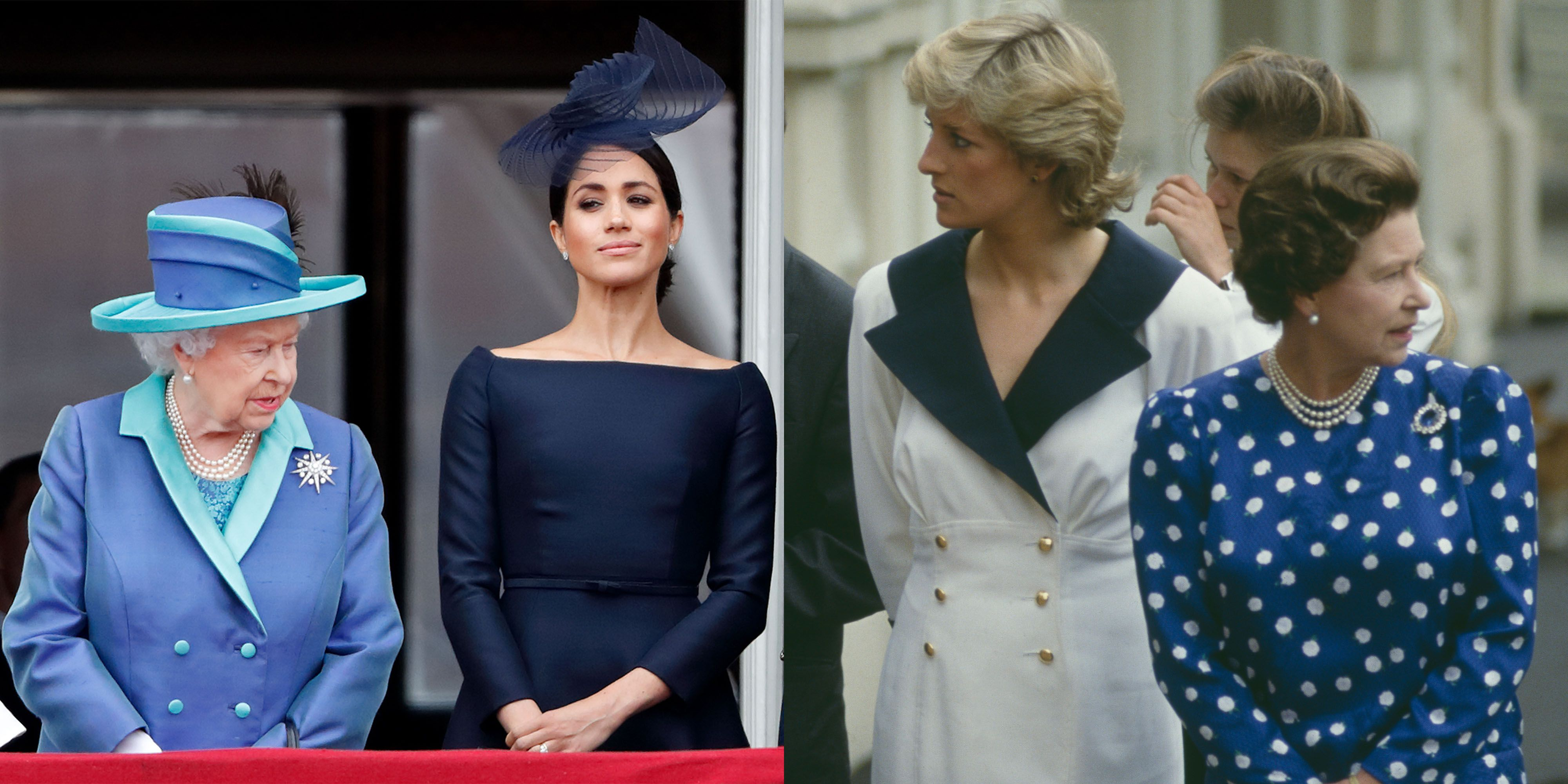 """Meghan Markle and Princess Diana """"Both Wanted Something from the Queen They Didn't Get,"""" Royal Expert Says"""