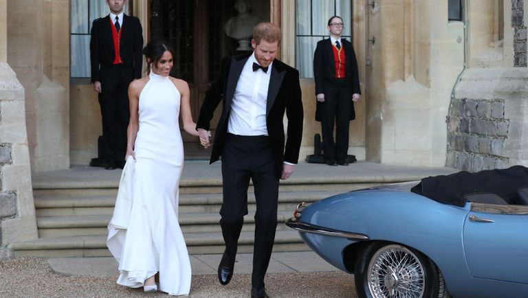 Meghan markle second wedding dress photos meghan markle stella meghan markle junglespirit Images