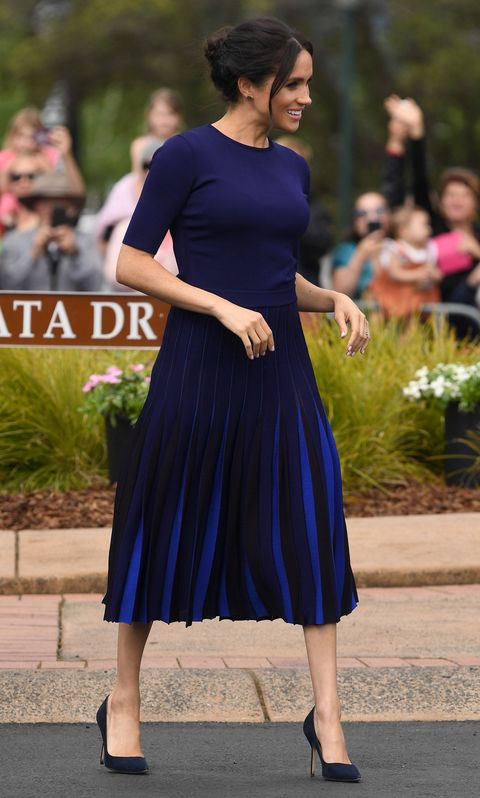 meghan markle just wore a cute totally see through skirt
