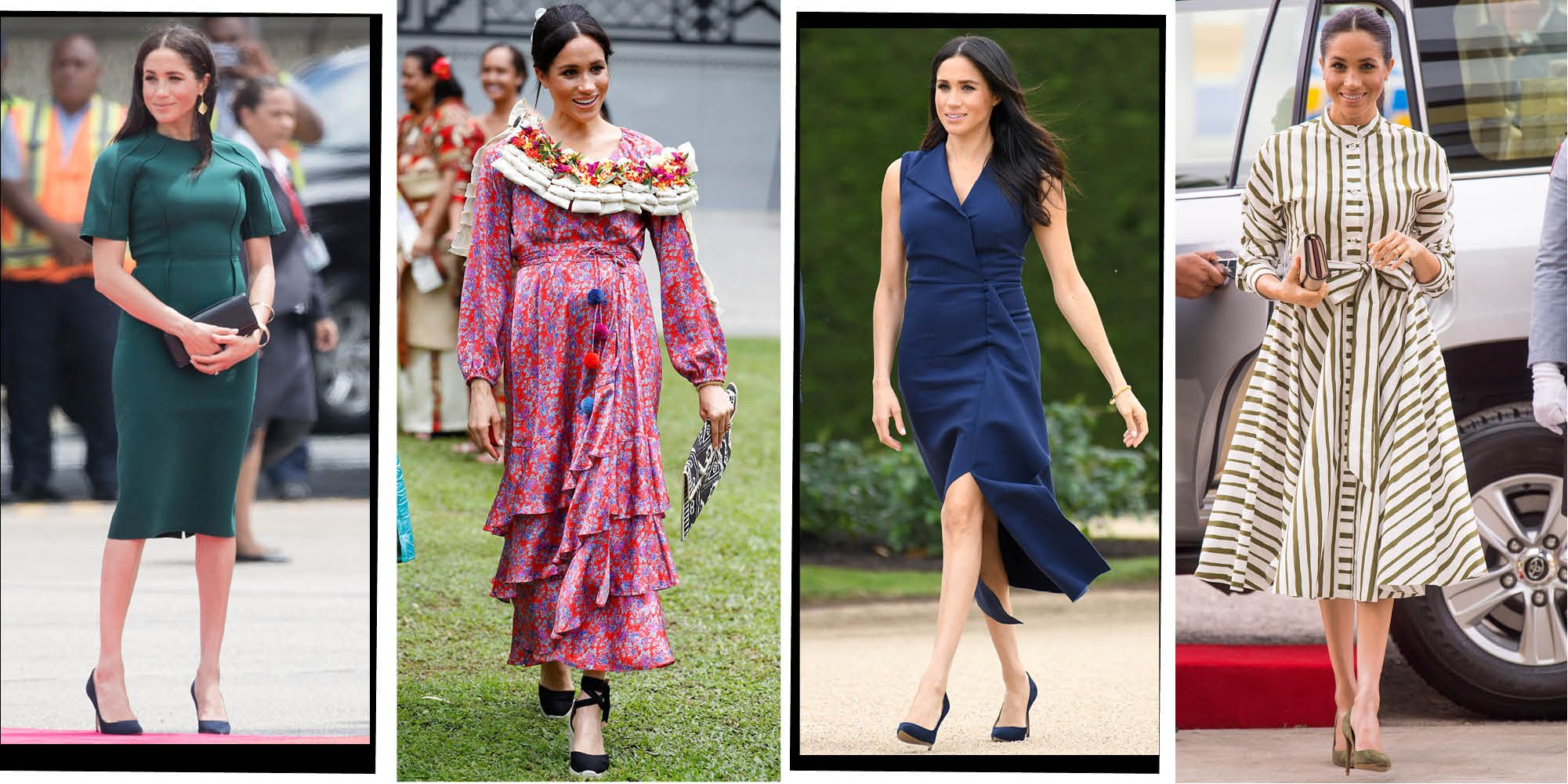 meghan markle royal tour outfits new zealand