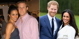 Meghan Markle's first and second weddings