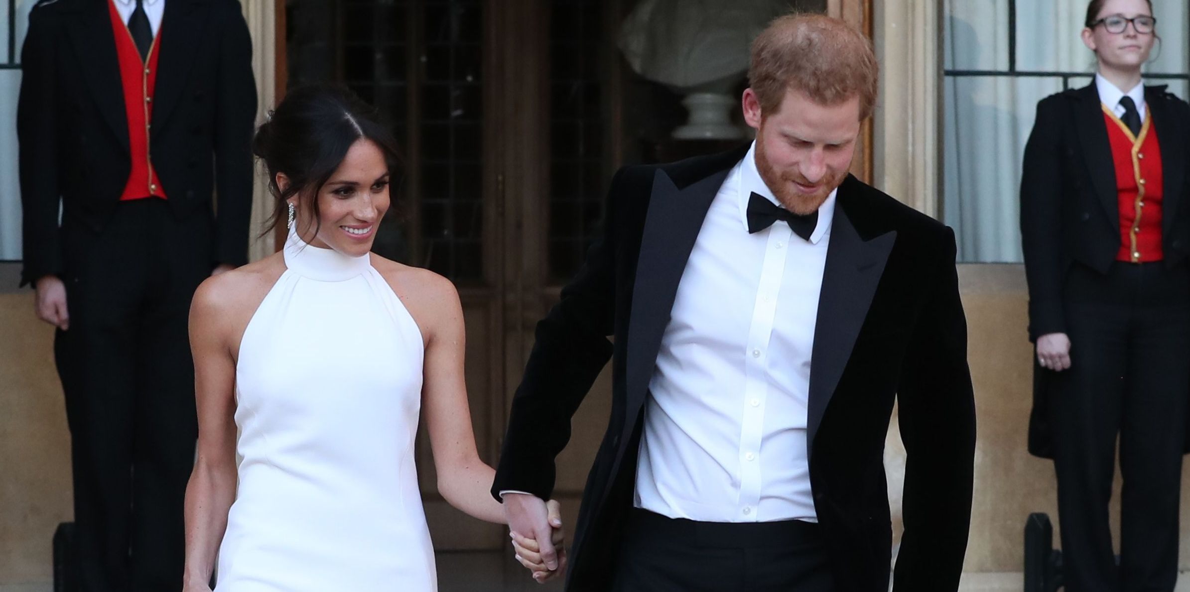 Meghan Markle Second Wedding Dress Pictures Of Meghan Markle S