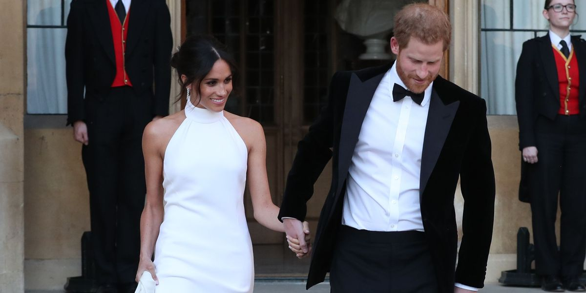 Meghan Markle Second Wedding Dress Pictures Of Meghan Markles
