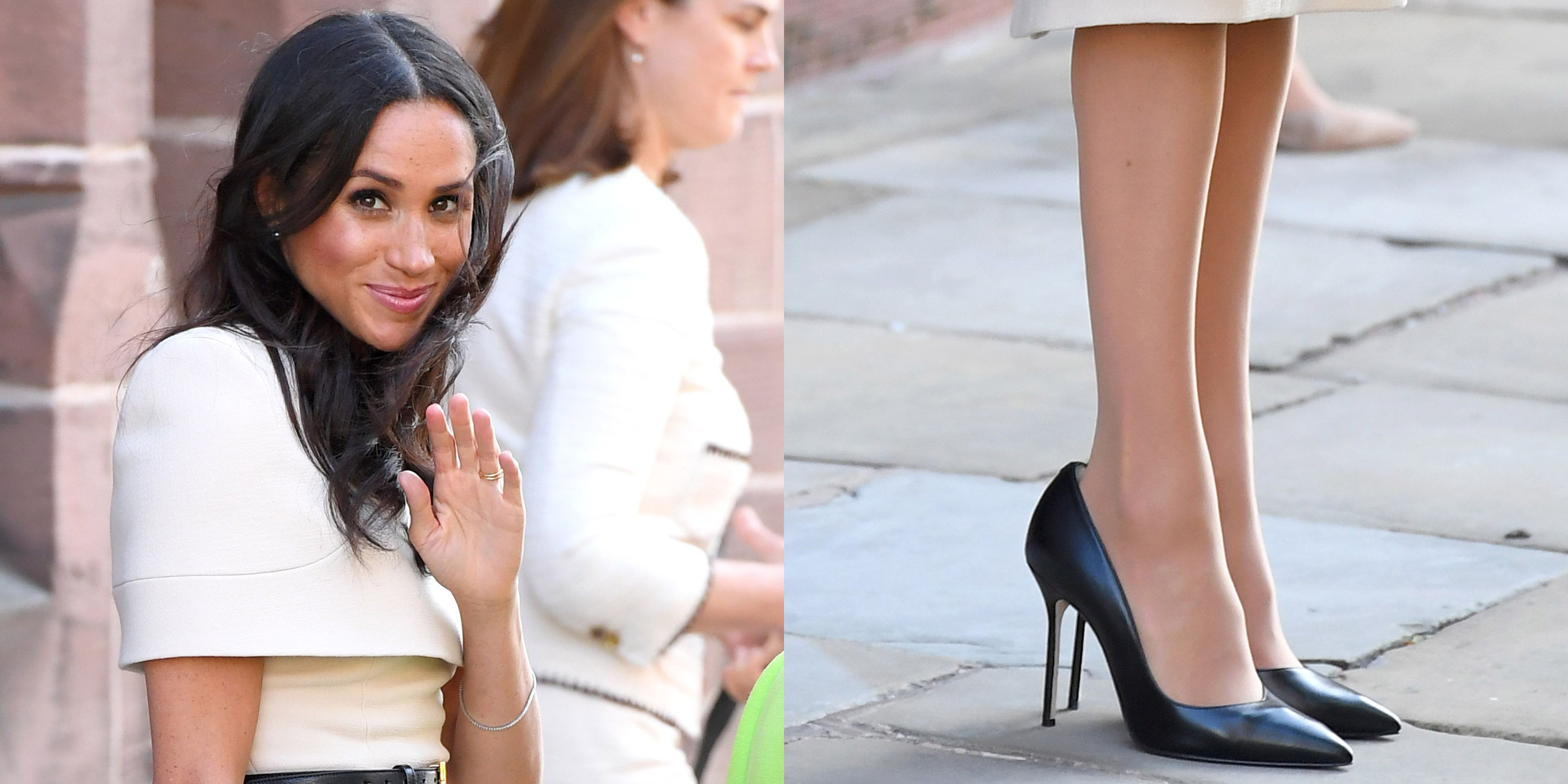 Here's Why Meghan Markle Always Wears Shoes That Are Too Big for Her