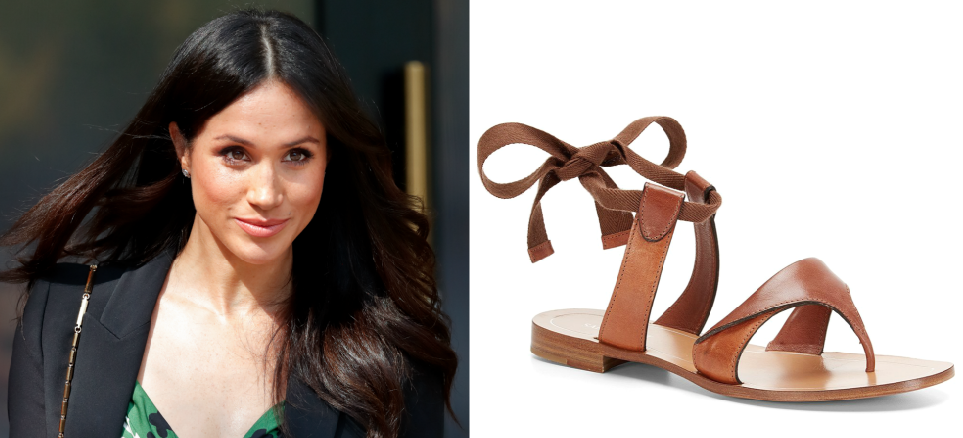 8b65c6fe4088 Meghan Markle s All-Time Favorite Sandal Style Can Be Yours for Only  10