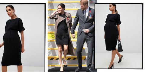 e91e28a7e82c8 Meghan Markle's £38 ASOS Maternity Dress Is Now Back In Stock, But ...