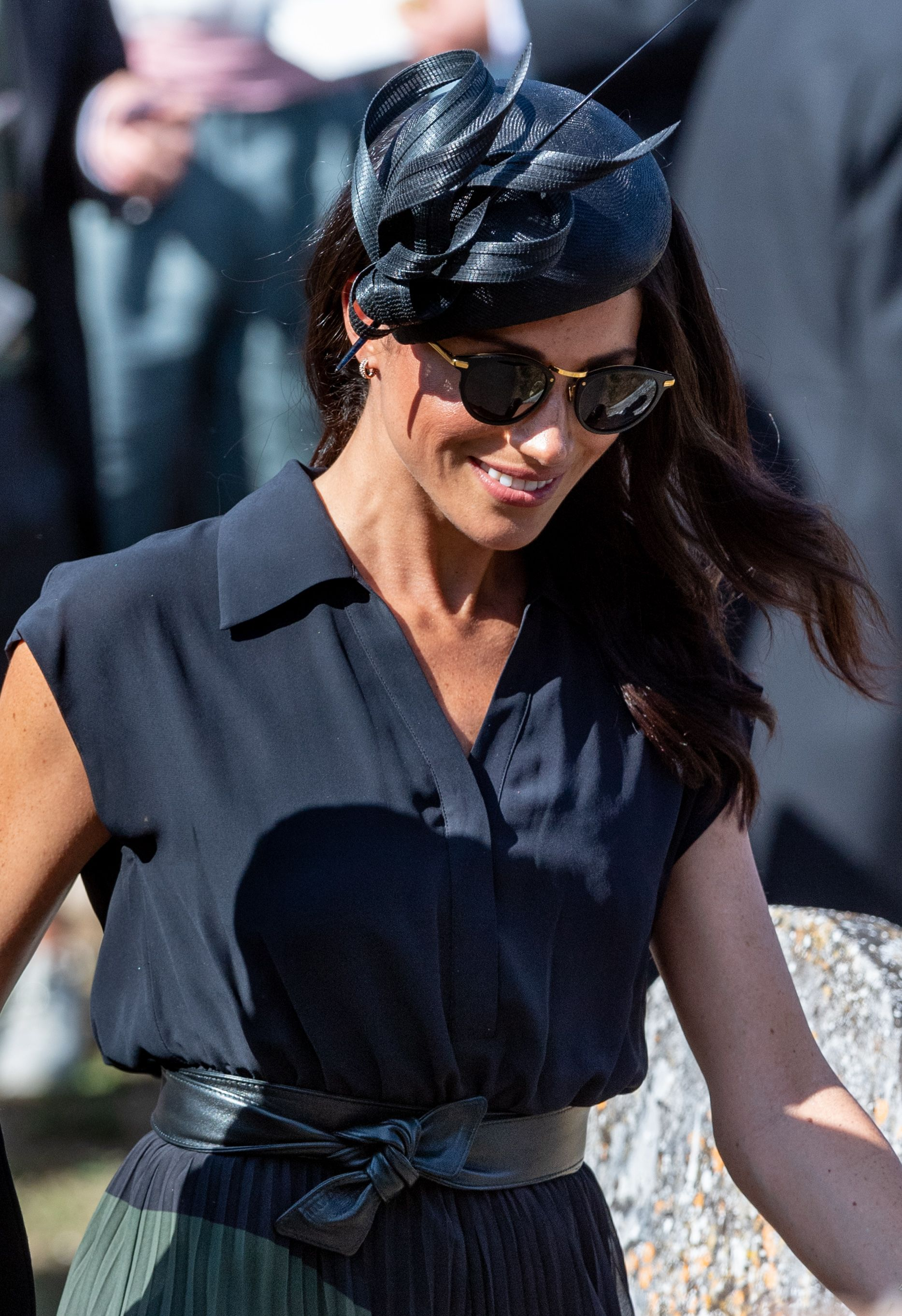 2b067b4b161 Meghan Markle wore a pair of £545 sunglasses at the weekend
