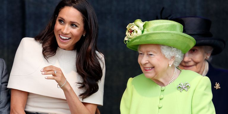 Image result for meghan markle and queen elizabeth