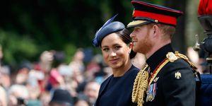Harry de Inglaterra, Kate Middleton, Meghan Markle, reina Isabel II, Meghan Markle reaparece tras dar a luz en 'Trooping the colour', Meghan Markle reaparece tras dar a luz , Meghan Markle reaparece tras el nacimiento de su primer hijo, Meghan Markle reaparece tras dar a luz a Archie