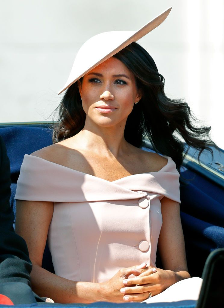 Meghan Markle Duchess of Sussex at Trooping of the Colour 2018