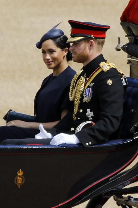 Meghan Markle Trooping The Colour 2019 Outfit