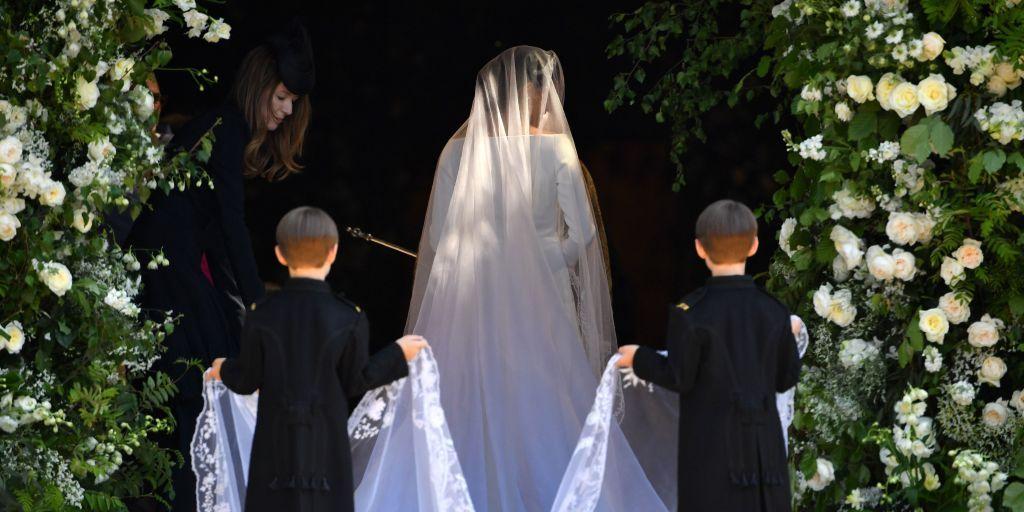 The Secret Meaning Behind Meghan Markle's Dramatic Royal Wedding Veil