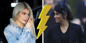 Meghan Markle versus Kylie Jenner, who wore it better, colbertjurk