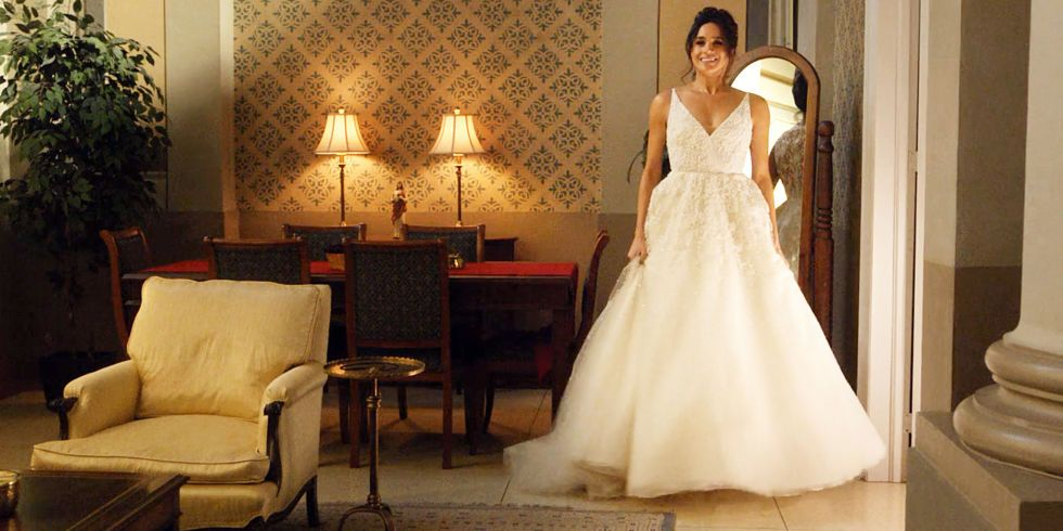 Segundo vestido de novia boda real